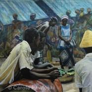 Liberian Market by Carole Pawloski