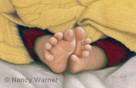 Calvin's Toes by Nancy Warner