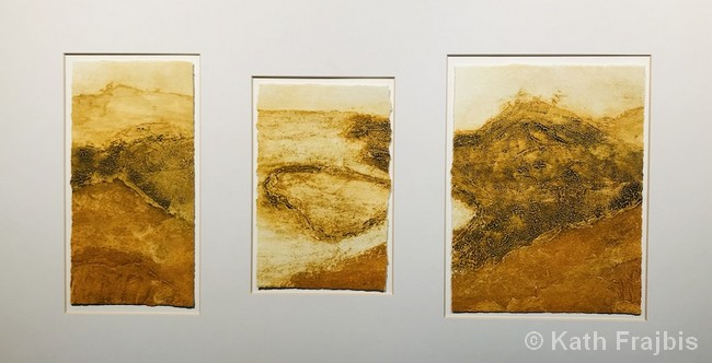 National Park: Portugal | Collagraph | 18x32"
