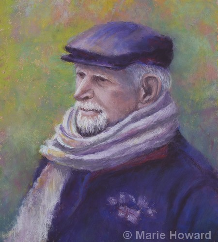 Contemplation | Pastel | 12x10"