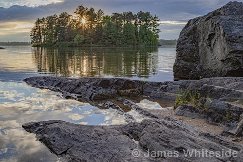 Burntside Evening | Photography | 15.5x23.5"