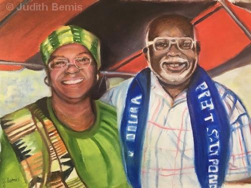 Inspirations Pastor Teacher | Oil on Paper | NFS | Judith Bemis