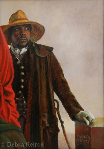 A Colonial Review | Oil on Panel | 10 x 7"